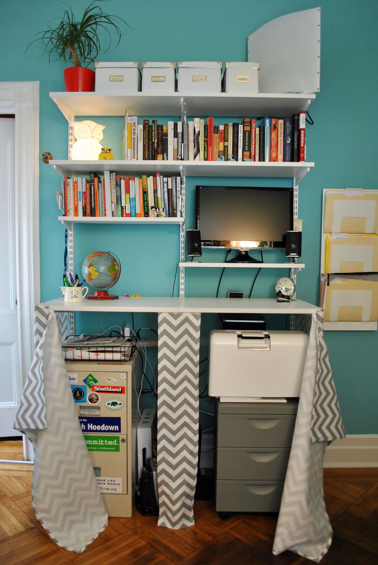 Instructions Plans Office Shelves Wooden File Cabinets Pdf
