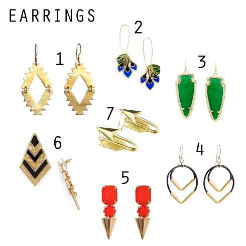 Urban Cholita: Cool Earrings