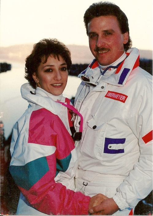 Urban Cholita: Eighties Ski Wedding