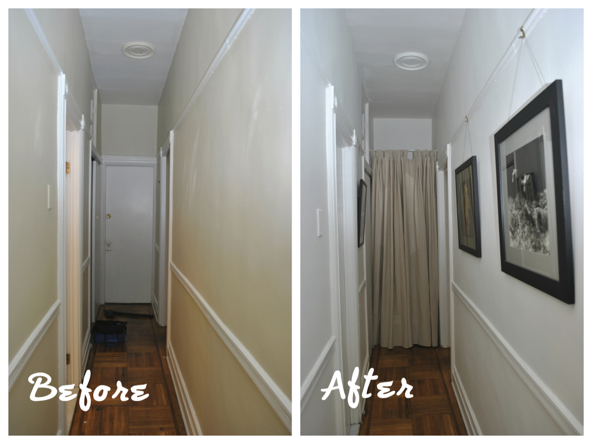 Painting A Hallway the cure – painting, framing, dinner party | urban cholita